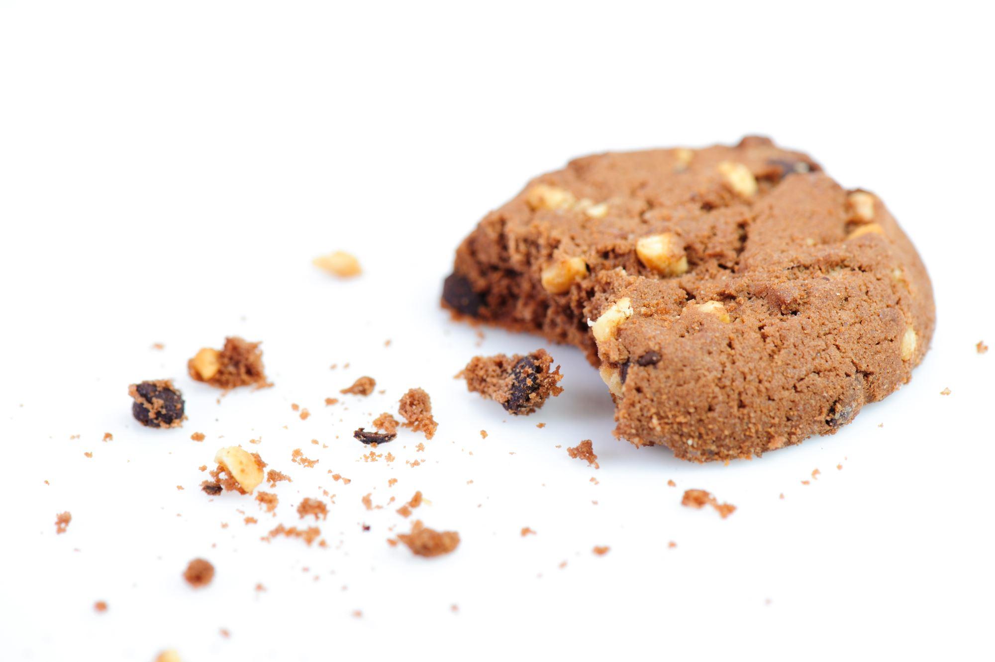 Chokolade- og nøddesmåkager