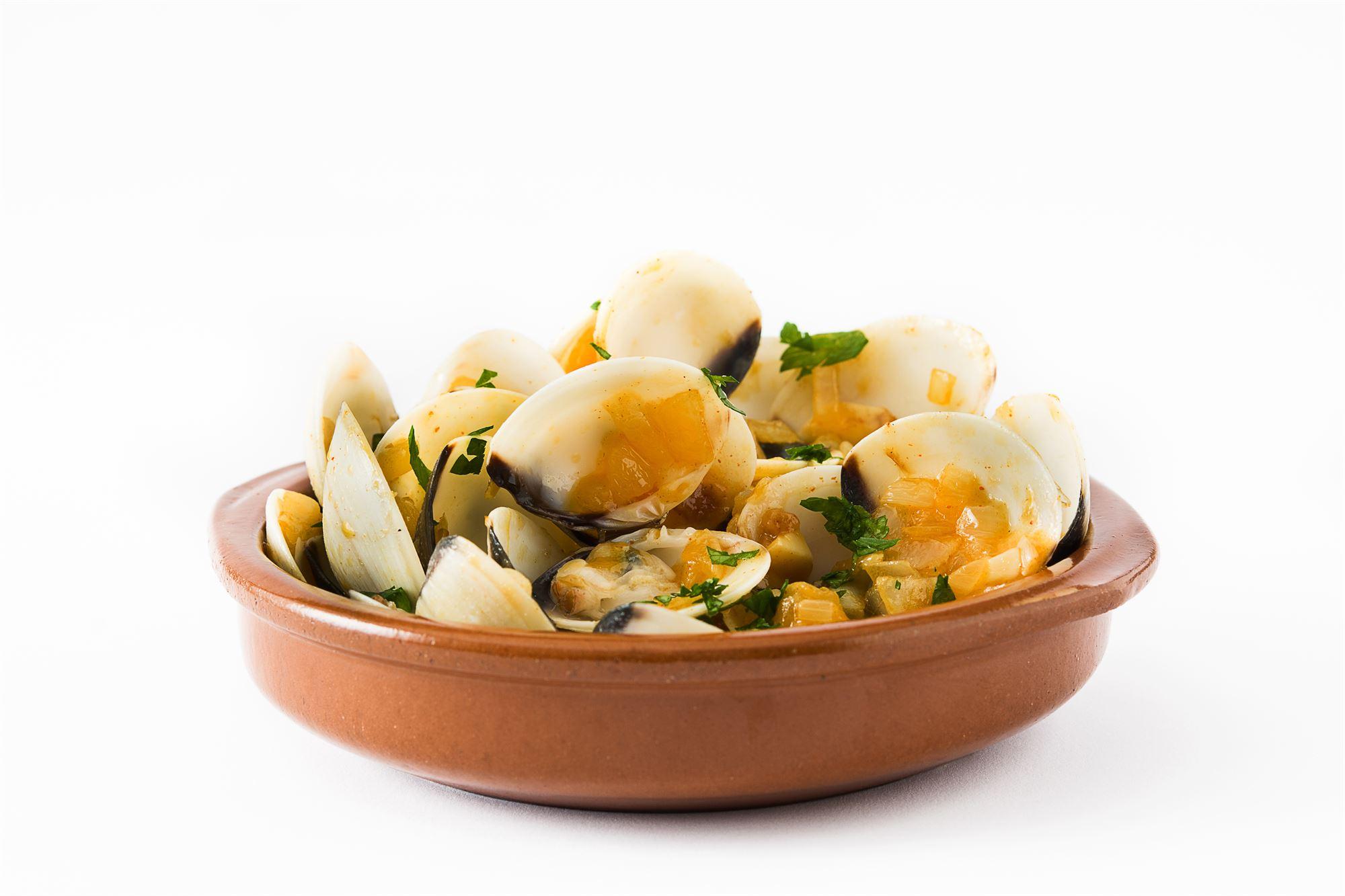 Muslinger med basilikum og citrongræs