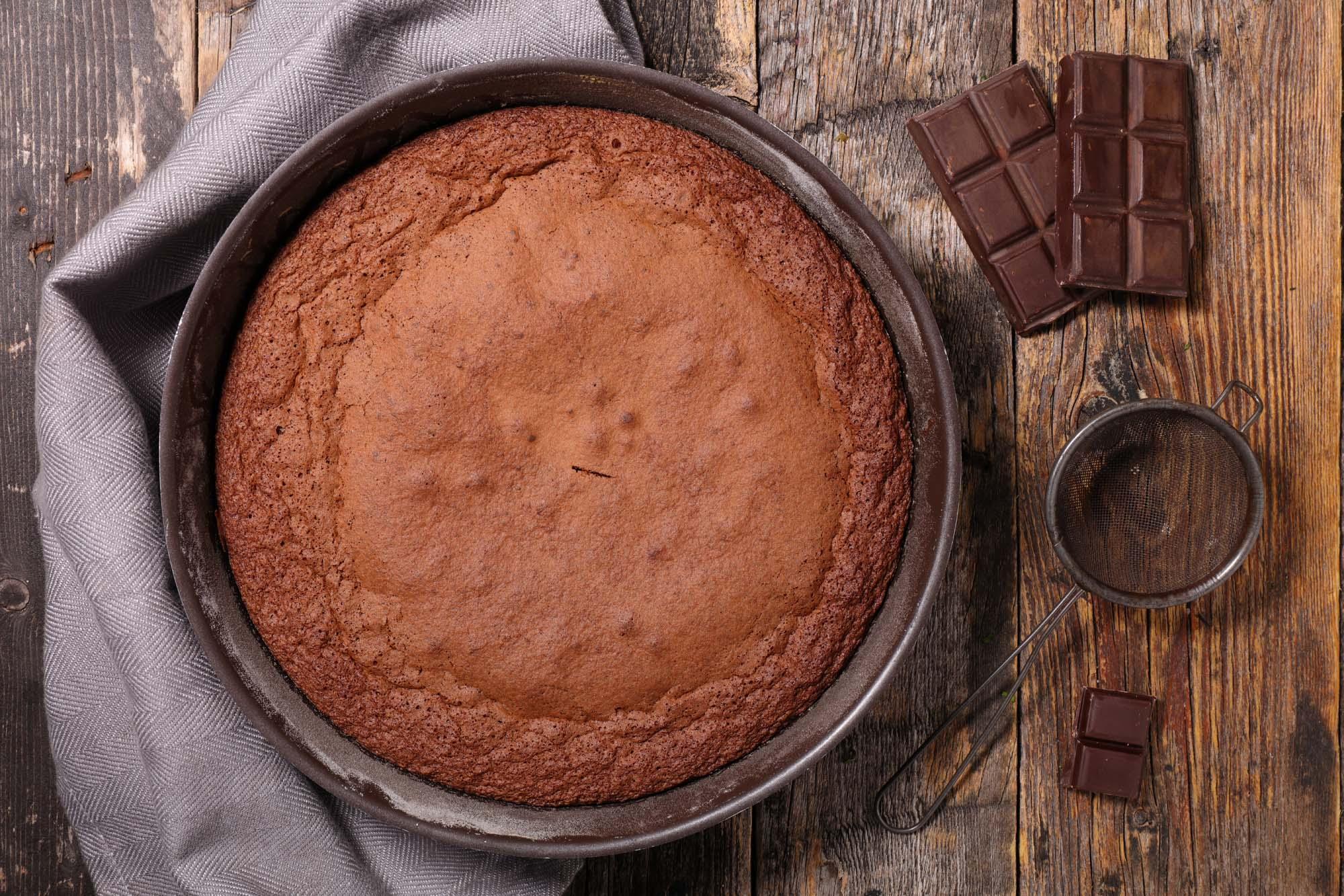 Farmors chokoladekage