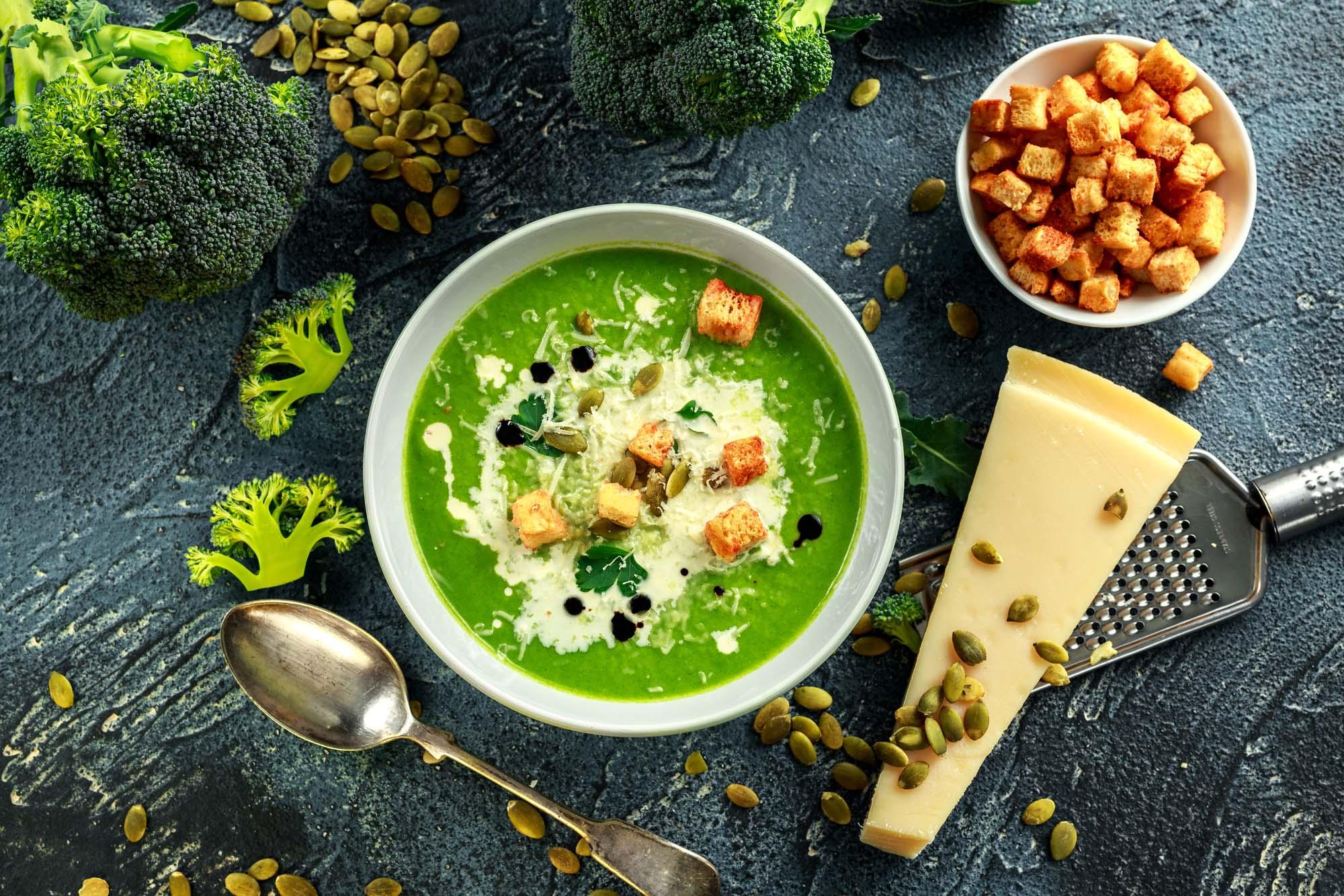 Broccolisuppe med kartofler