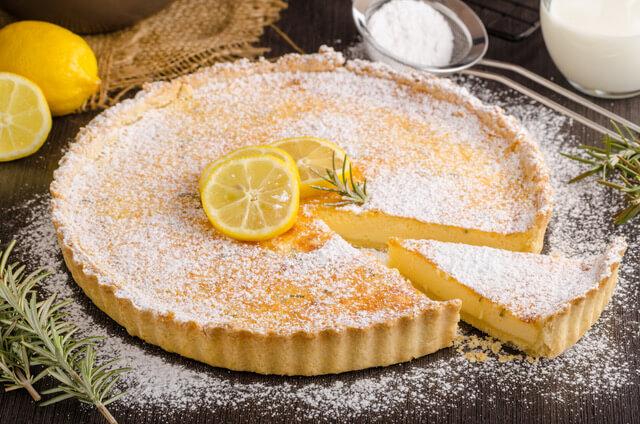 Den lækre Citrontærte