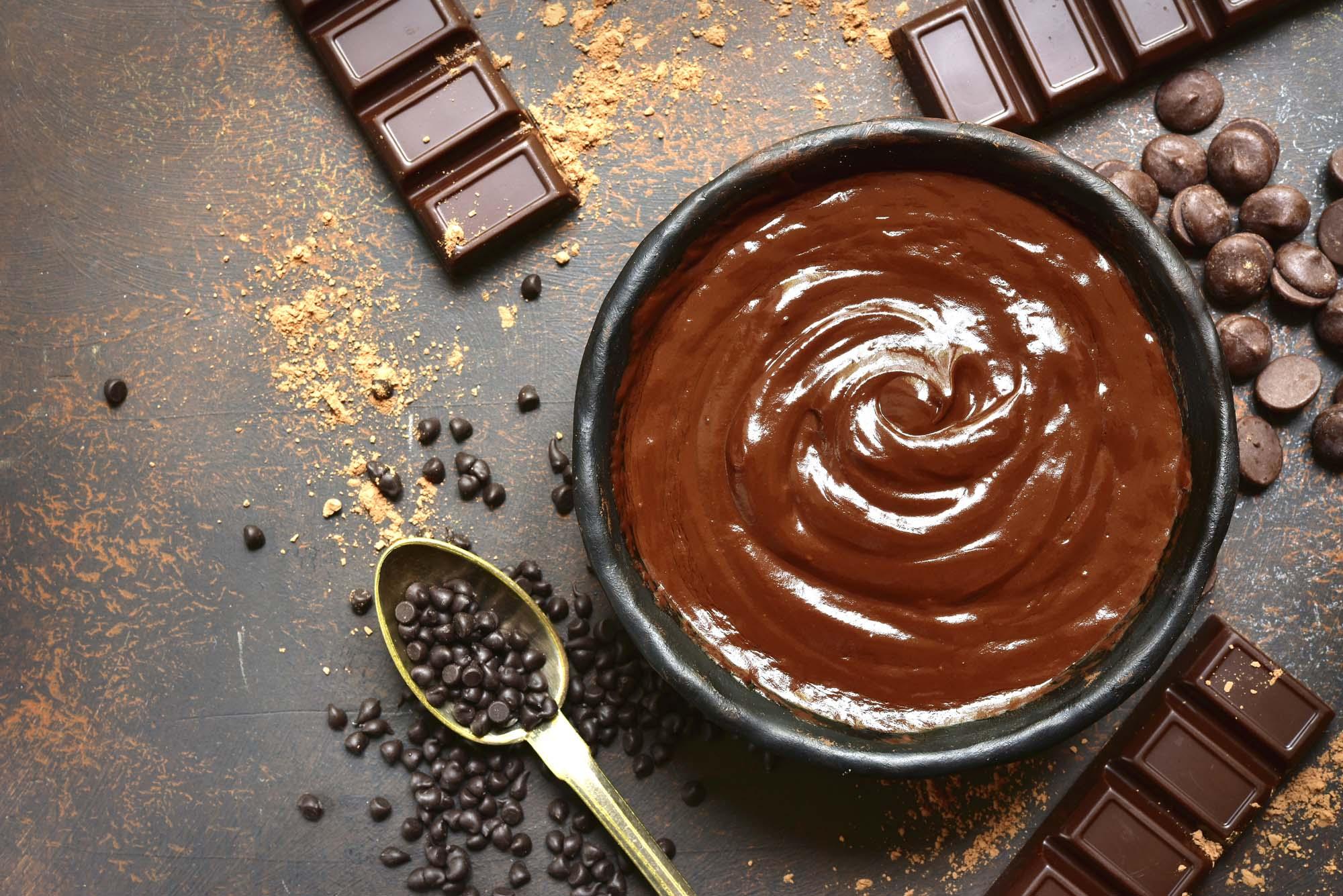 Chokolade ganache til opsmøring