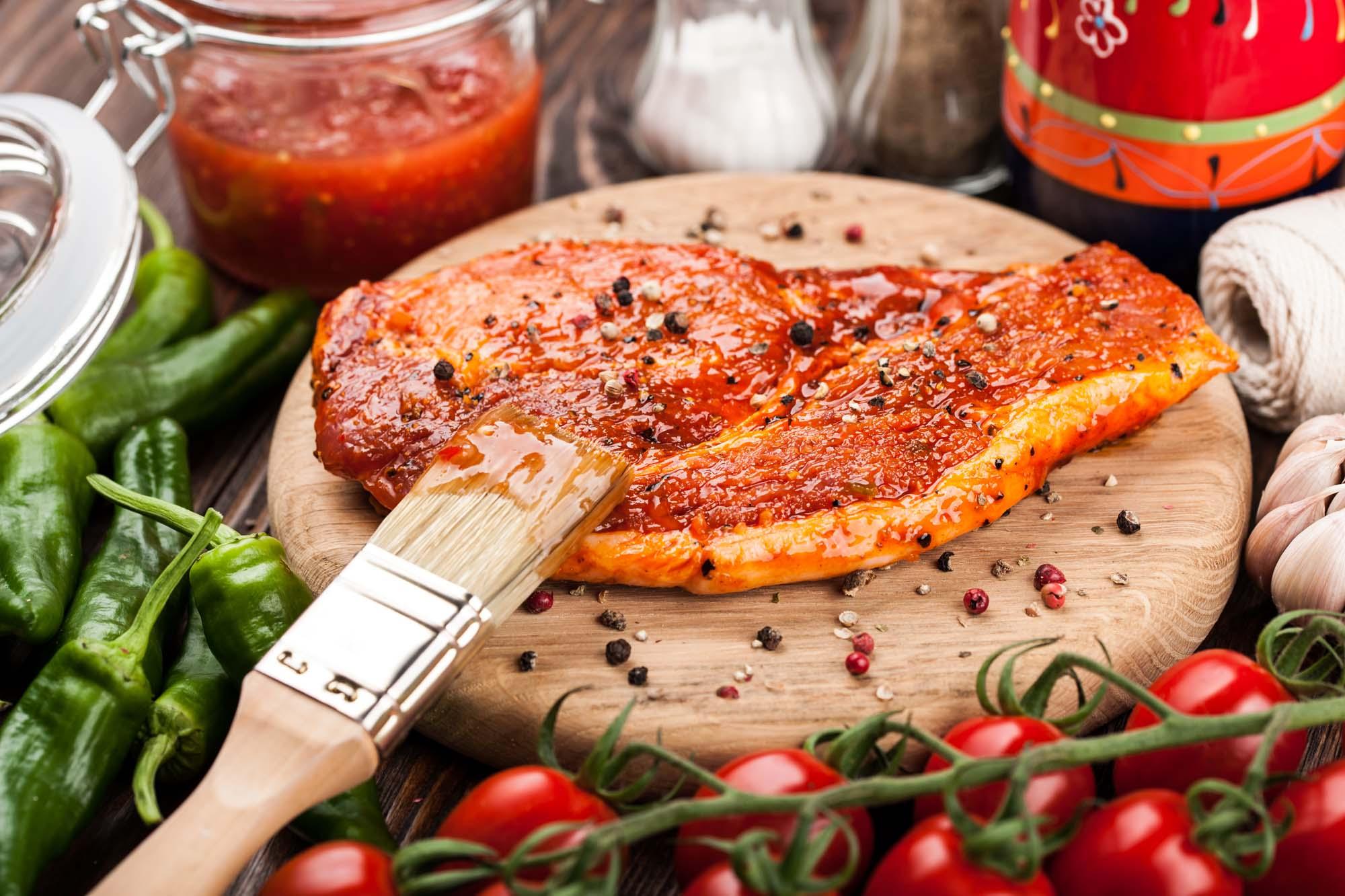 Chilisauce til grill