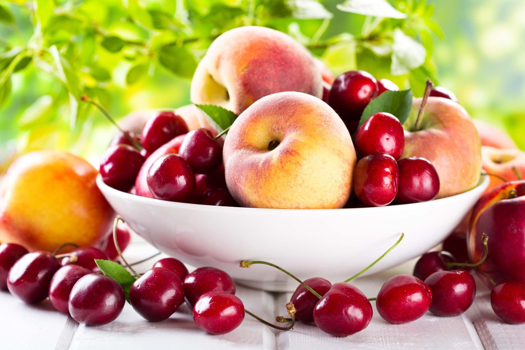 Kirsebær- og nektarinsalsa