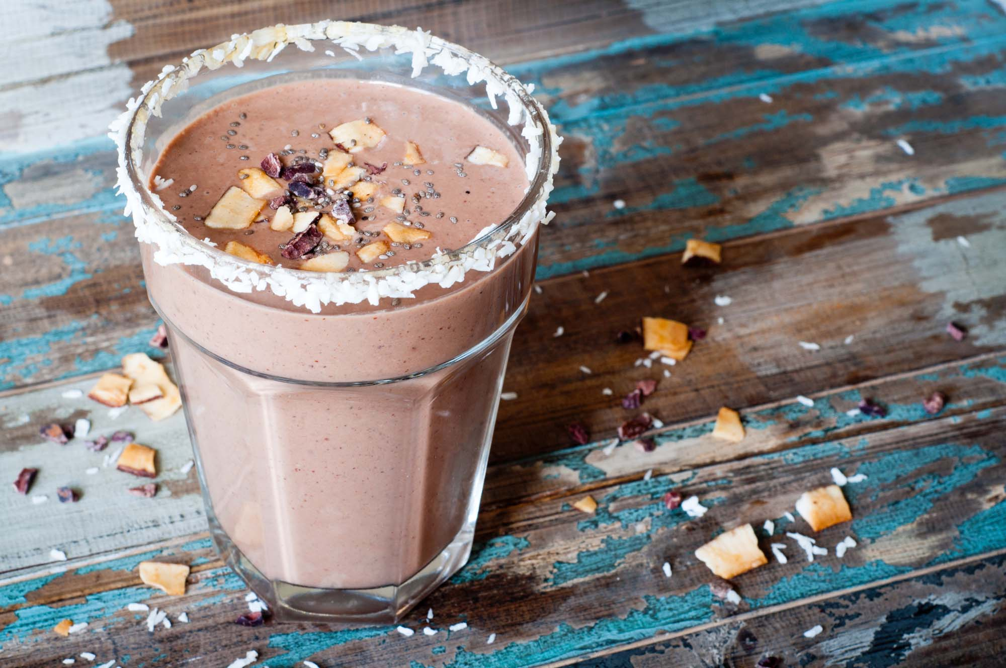 Chokolade shake med protein